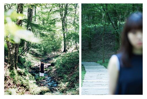柴幸男『わたしが悲しくないのはあなたが遠いから』メインビジュアル Photo:左:Hideaki Hamada 右:Ivy Chen