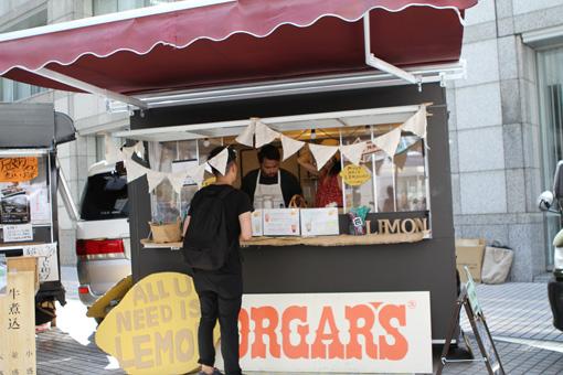 日本生まれのレモネード専門店「ORGAR'S」。完全ハンドメイドで材料にもこだわった無添加のクラフトレモネードを提供している