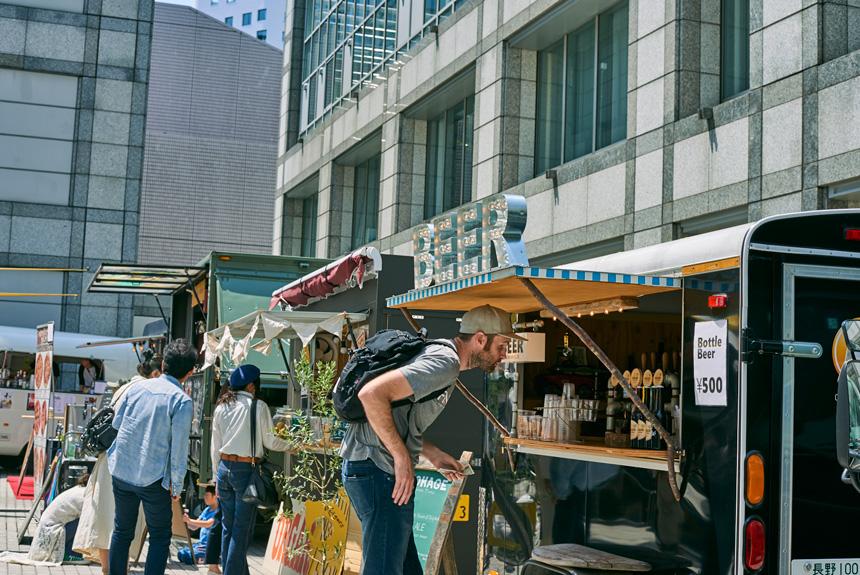 ようやく日本でも、「フードカート」による新たな食文化が発展中