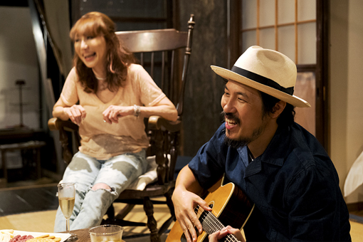 左から:杏子、常田真太郎