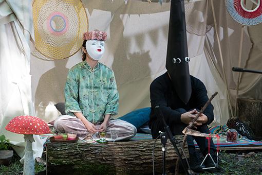 松尾が「摩訶不思議な仲間たち」と呼ぶキャラクター