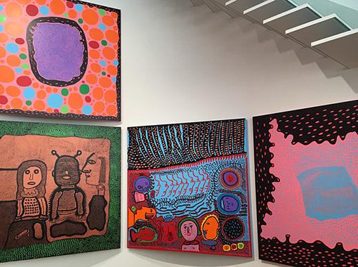 3階ギャラリーには『わが永遠の魂』シリーズを展示