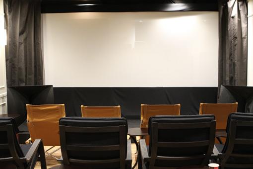 2階の上映・イベントスペース
