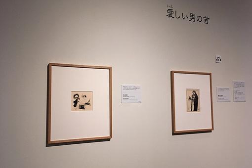 右がオーブリー・ビアズリーによる『サロメ』の挿絵
