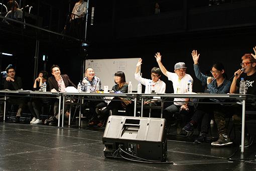 審査の結果がまっぷたつになる場面も。 撮影:井戸沼紀美