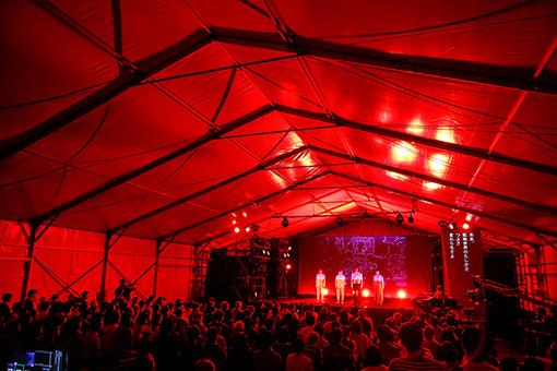 『post rock opera「四次元の賢治 -第1幕-」』 中瀬公園内特設テントにて開催