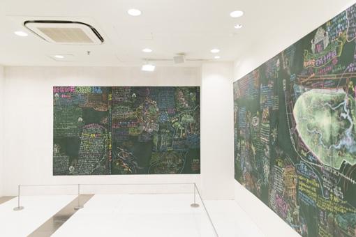 2001年に発表された『新宿御苑大改造計画』は、本展にも展示されている