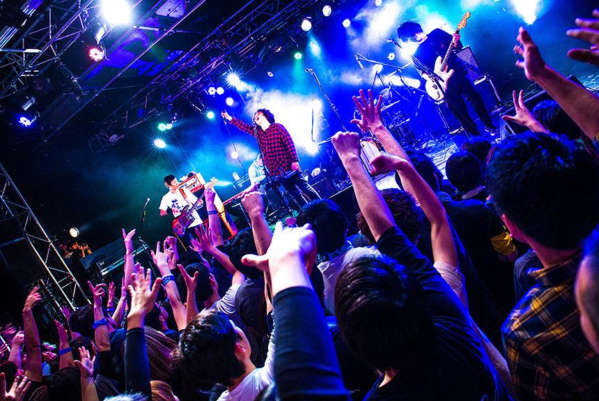 藍坊主がライブで表現、音楽をやめようとした時期を経た「今」