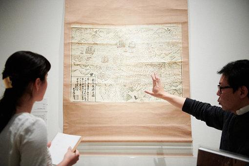 『肥州長崎之圖』(1764年)