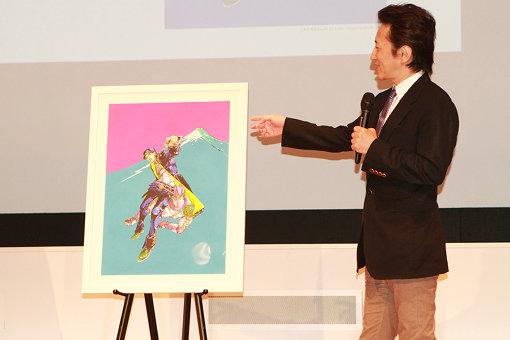 東京展のキービジュアルについて語る荒木飛呂彦