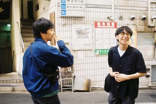 左から:椎木知仁、古舘佑太郎
