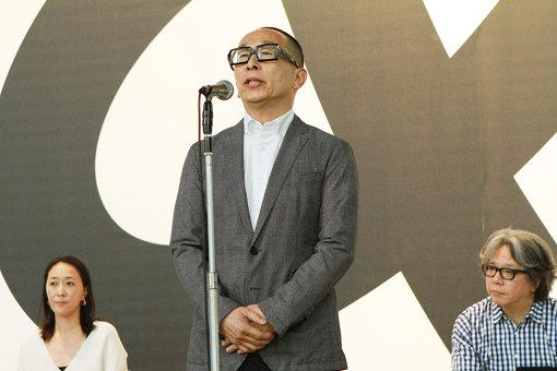 『デザインあ展 in TOKYO』内覧会に登壇した佐藤卓