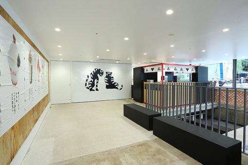 季節限定でポップアップストア「トラヤカフェ・あんスタンド」も登場。地下3階にある店内で作られた「あんペースト」を使った銀座ならではのメニューが楽しめる