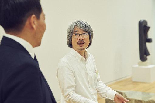 福士理(東京オペラシティ アートギャラリー シニアキュレーター)</p>