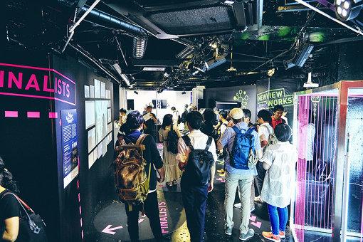 渋谷GALLERY X BY PARCOで開催された『NEWVIEW EXHIBITION 2018』会場内の様子