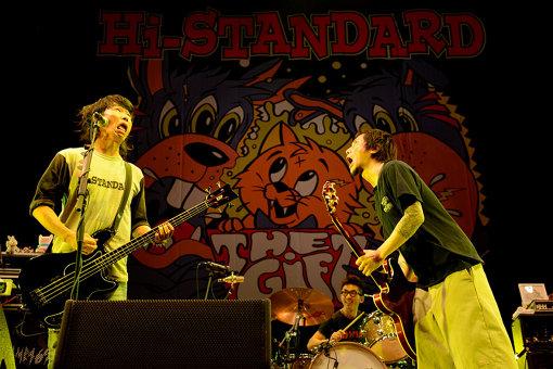 Hi-STANDARD。撮影:Yasumasa Handa(Showcase)
