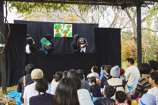 帝京大学stepによる本格的な人形劇