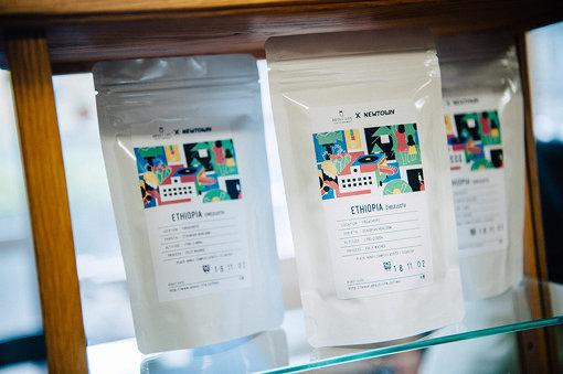 『NEWTOWN』オリジナルパッケージのコーヒー豆も販売