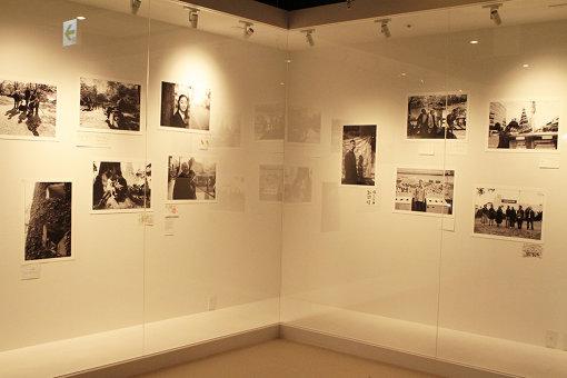 ギャラリーコーナーではハービー・山口の写真展