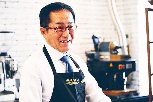 ドトールコーヒー常務取締役兼神乃珈琲代表の菅野眞博