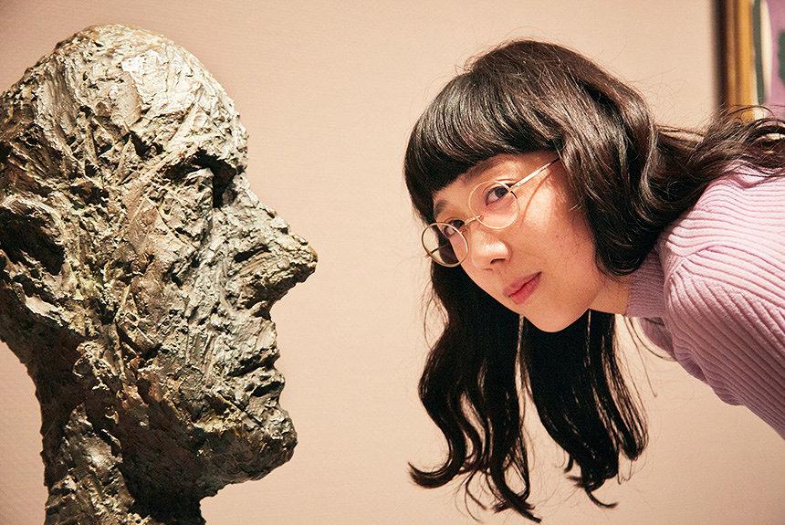 柴田聡子がジャコメッティら巨匠から活力をもらう展覧会レポ