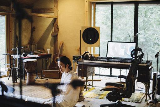 高木が自宅に構えるスタジオ