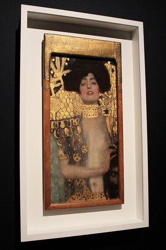 グスタフ・クリムトの「黄金様式」時代の作品『ユディトI』