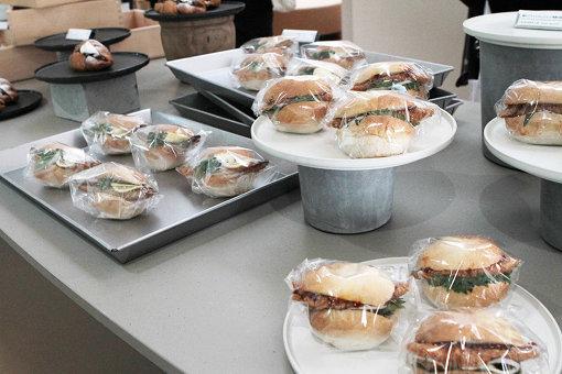 「二階のサンドイッチ」のフードメニュー