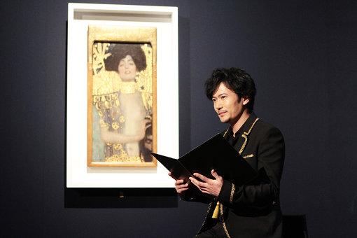 稲垣吾郎は『クリムト展 ウィーンと日本 1900』で音声ガイド初挑戦