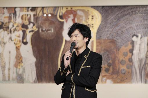 『ベートーヴェン・フリーズ』への想いを語る稲垣吾郎