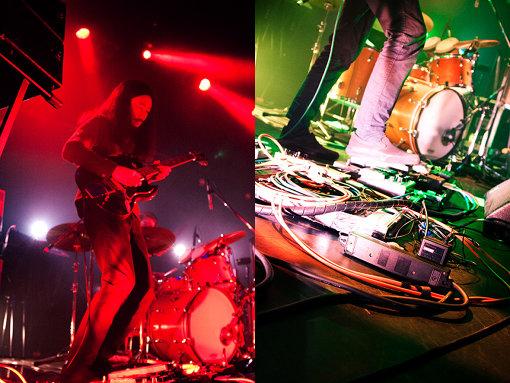 OGRE YOU ASSHOLE(おうが ゆー あすほーる)<br>メンバーは出戸学(Vo,Gt)、馬渕啓(Gt)、勝浦隆嗣(Dr)、清水隆史(Ba)。メロウなサイケデリアで多くのフォロワーを生む現代屈指のライブバンド。2000年代USインディーとシンクロしたギターサウンドを経て石原洋プロデュースのもとサイケデリックロック、クラウトロック等の要素を取り入れた『homely』『100年後』『ペーパークラフト』のコンセプチュアルな三部作で評価を決定づける。初のセルフプロデュースに取り組んだ前作『ハンドルを放す前に』ではバンド独自の表現を広げる事に成功し高い評価を得る。