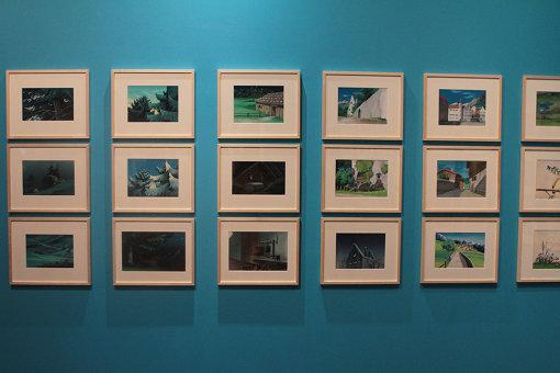 『アルプスの少女ハイジ』、井岡雅弘による背景美術 ©ZUIYO 「アルプスの少女ハイジ」公式ホームページ http://www.heidi.ne.jp