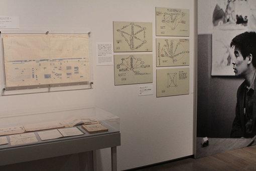 『太陽王子 ホルスの大冒険』の「テンション・チャート」や登場人物の関係を示した図 ©東映
