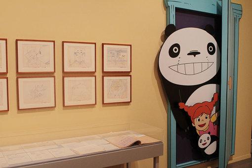 『パンダコパンダ 雨ふりサーカスの巻』、宮崎駿によるレイアウト ©TMS