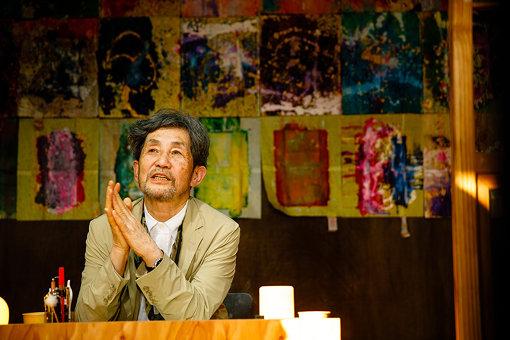 吉増剛造『詩人の家』(撮影:NAKANO Yukihide)