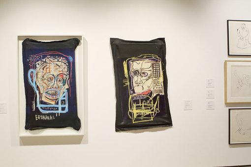 『バスキア展 メイド・イン・ジャパン』展示風景 Artwork © Estate of Jean-Michel Basquiat. Licensed by Artestar, New York
