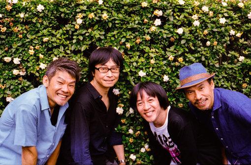 フラワーカンパニーズ<br>左から:ミスター小西(Dr)、竹安堅一(Gt)、鈴木圭介(Vo)、グレートマエカワ(Ba)<br>名古屋が生んだ「日本一のライブバンド」フラワーカンパニーズ。通称フラカン。2019年4月23日、「メンバーチェンジ&活動休止一切なし」4人揃って結成30周年を迎えた。