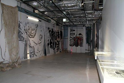 渋谷PARCO建て替え工事の仮囲いを演出していた「ART WALL」を再びコラージュ