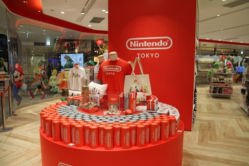 国内初となる任天堂の直営オフィシャルショップ「Nintendo TOKYO」