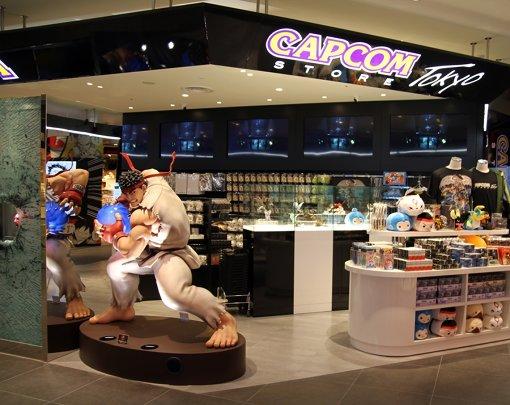 「CAPCOM STORE TOKYO」では波動拳