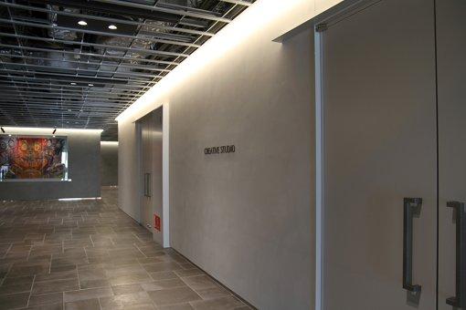 「PUBLIC STAGE」のスタジオ内部は今回見ることができなかった