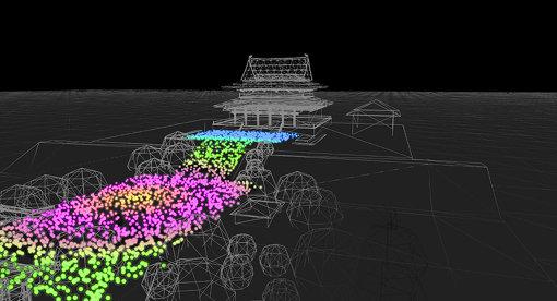 仮想空間イメージ図