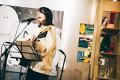 柴田聡子とクリスマスパーティ。アートな空間でライブ&トーク