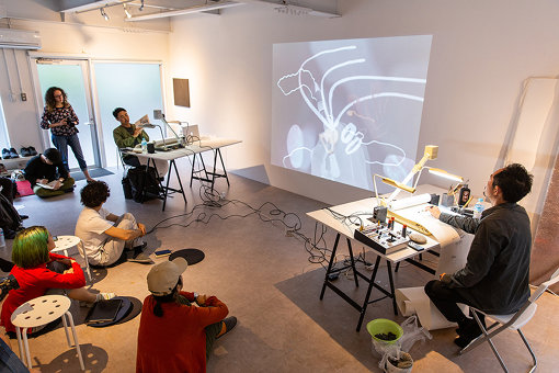 『Drawing Tube vol.04 西野壮平×GAP students』Hiraku Suzuki Studio