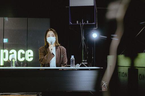 Licaxxx 3月31日に行なわれた「#SaveOurSpace」の会見より 撮影: Leo Youlagi