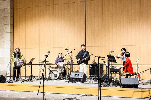 ザ・なつやすみバンドと落合中学校吹奏楽部
