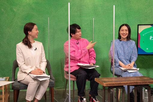 左から:小川未紗(ロート製薬)、劔樹人、犬山紙子
