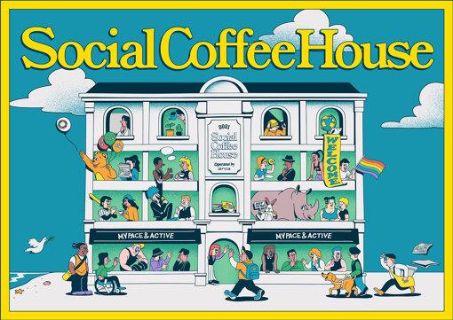 『Social Coffee House』メインビジュアル
