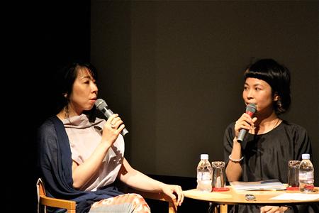 左:川内倫子、右:原田郁子