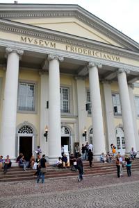 メイン会場のひとつであるフリーデリキアヌム美術館